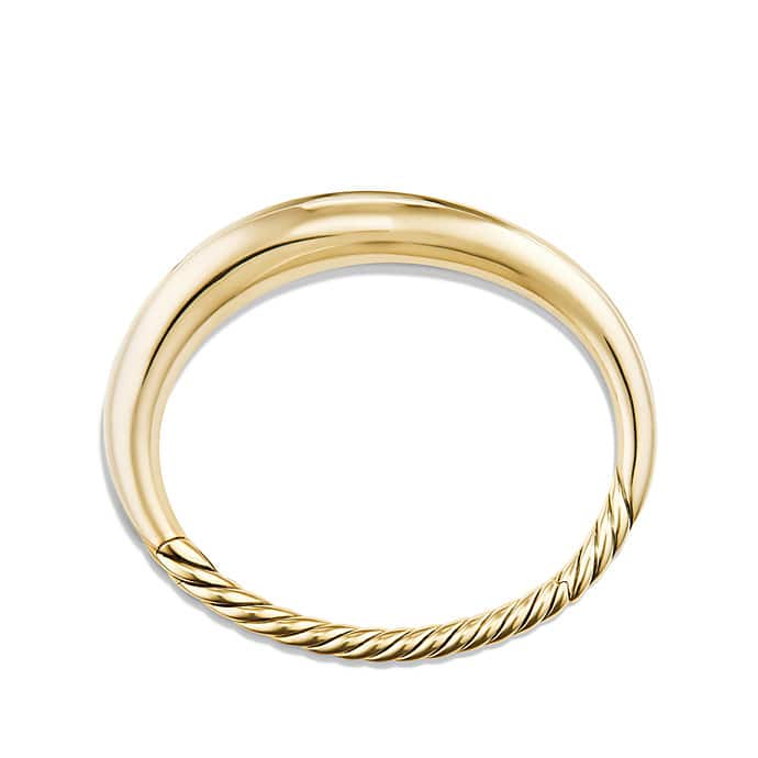 Pure Form® Smooth Bracelet in 18K Gold, 9.5mm