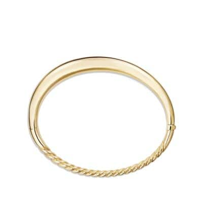 Pure Form® Smooth Bracelet in 18K Gold, 6.5mm