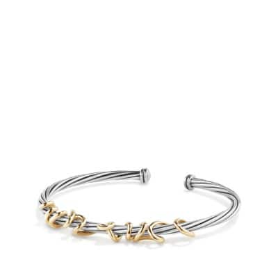 DY Whispers I Love You Bracelet with 14K Gold thumbnail