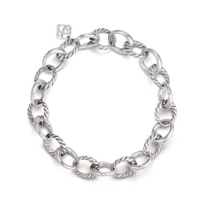 Cable Collectibles Oval Link Charm Bracelet