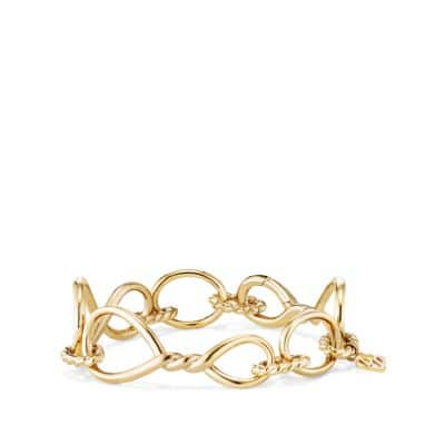 Continuance Chain Bracelet in 18K Gold