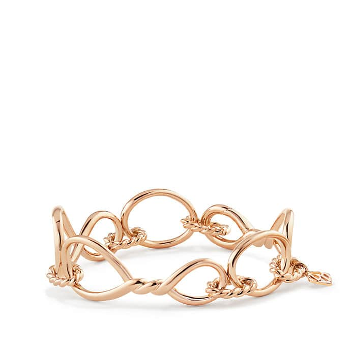 Continuance Chain Bracelet in 18K Rose Gold