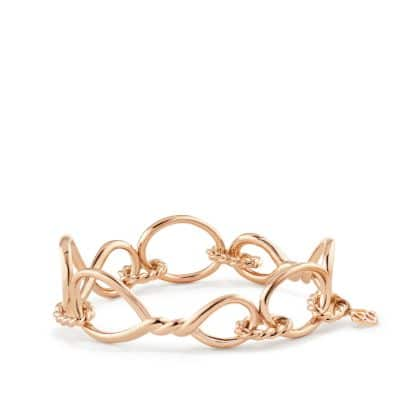Continuance Chain Bracelet in 18K Rose Gold thumbnail