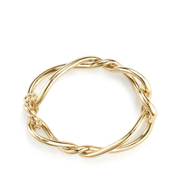 Continuance Bold Bracelet in 18k Gold, 29.2mm
