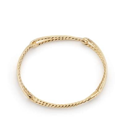 Continuance® Bracelet with Diamonds in 18K Gold