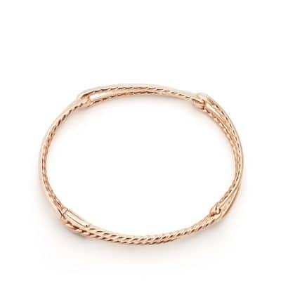 Continuance® Bracelet with Diamonds in 18K Rose Gold
