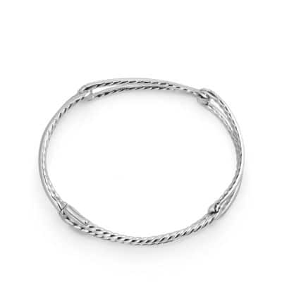 Continuance® Bracelet with Diamonds in 18K White Gold