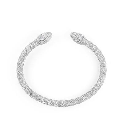 Diamond Renaissance Bracelet in 18K White Gold