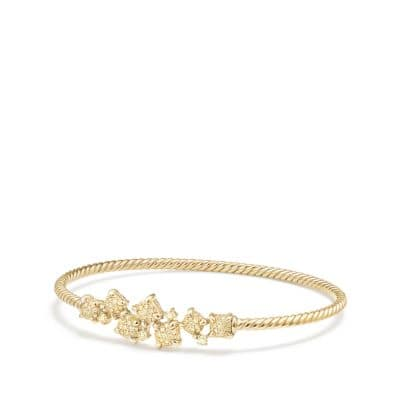 Precious Chatelaine® Bracelet with Yellow Diamonds in 18K Gold