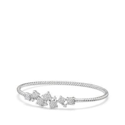 Precious Chatelaine® Bracelet with Diamonds in 18K White Gold
