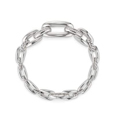 Wellesley Link™ Chain Bracelet with Diamonds