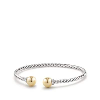 Solari Bracelet with Diamonds and 18K Gold thumbnail
