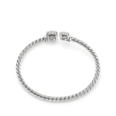 Chatelaine® Bypass Bracelet with Diamonds