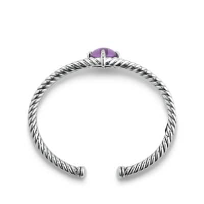 Chatelaine® Bracelet with Amethyst and Diamonds