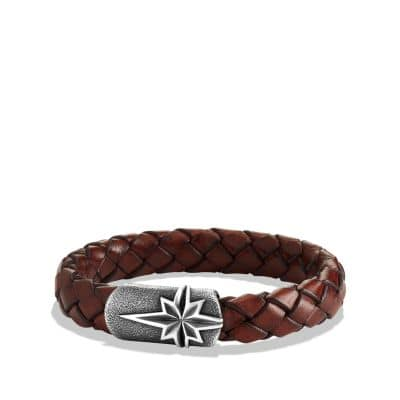 Maritime North Star Bracelet in Brown
