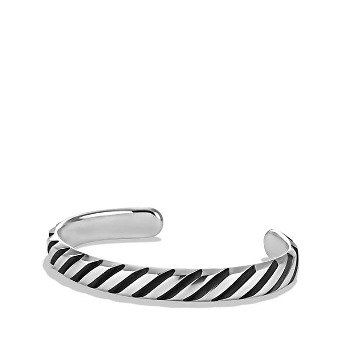 Modern Cable Cuff Bracelet