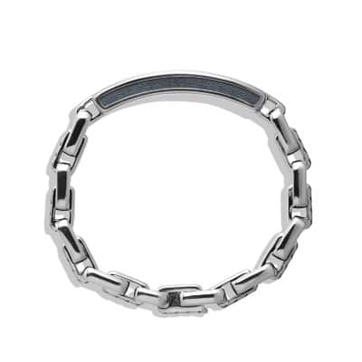 Modern Cable ID Bracelet