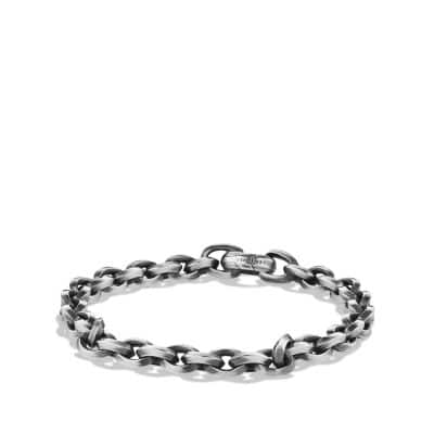 Knife Edge Link Chain Bracelet