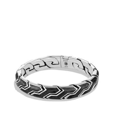 Forged Carbon Link Bracelet