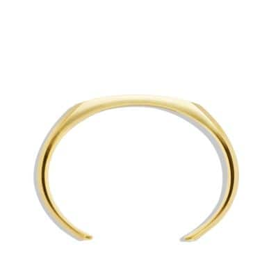 Heirloom Cuff Bracelet in 18K Gold