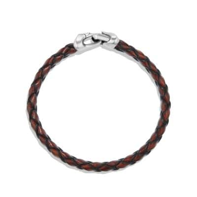 Armory Leather Bracelet in Brown