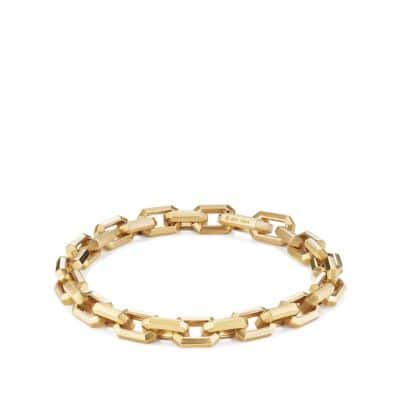 DY Fortune Heirloom Link Bracelet in 18K Gold, 7.5mm