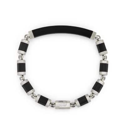 Hex ID Bracelet in Black