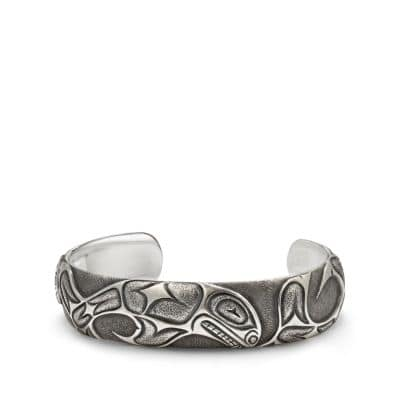 Northwest Wide Cuff Bracelet