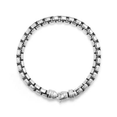 Extra-Large Box Chain Bracelet, 7mm