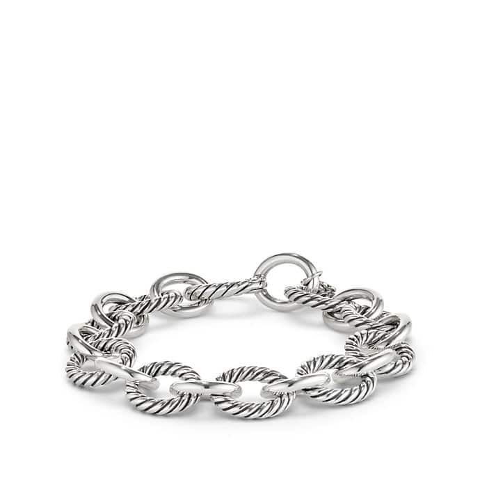 Oval Large Link Bracelet, 12mm
