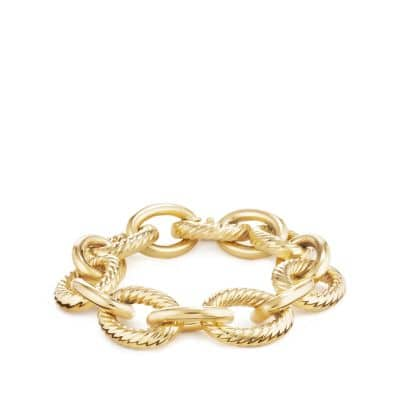 Extra-Large Oval Link Bracelet in 18K Gold