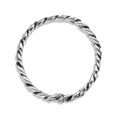 Curb Chain Bracelet, 15mm