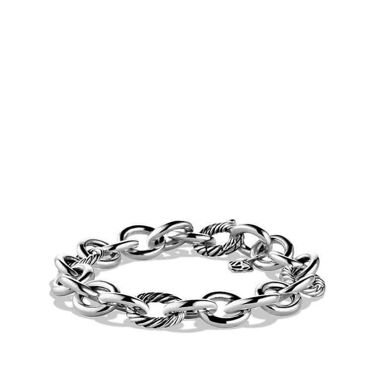 Round and Oval Link Bracelet