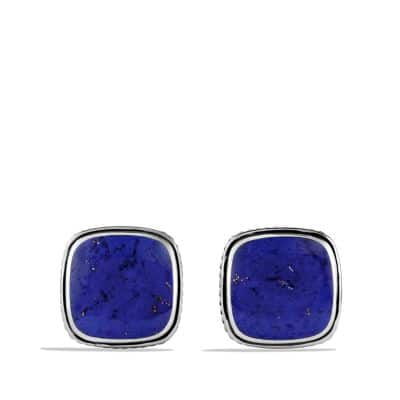 Exotic Stone Cufflinks with Lapis Lazuli