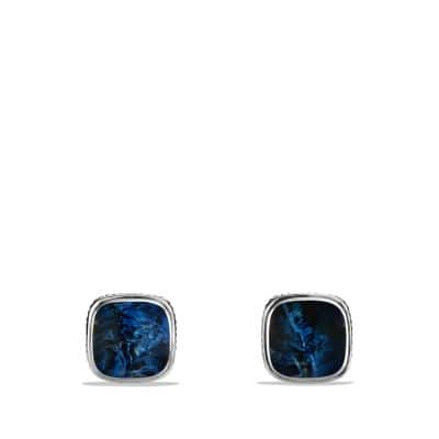 Exotic Stone Cufflinks with Pietersite