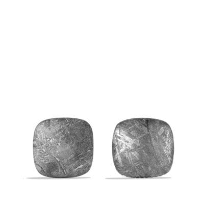 Streamline Cuff Links with Meteorite