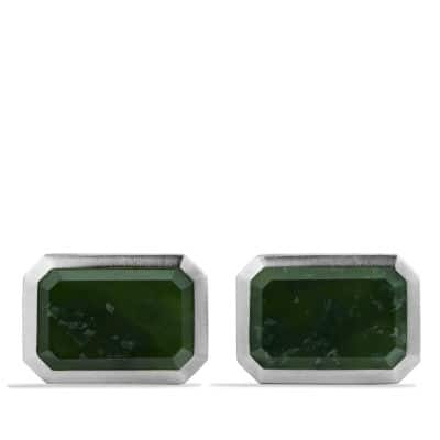 Heirloom Cufflinks with Jade