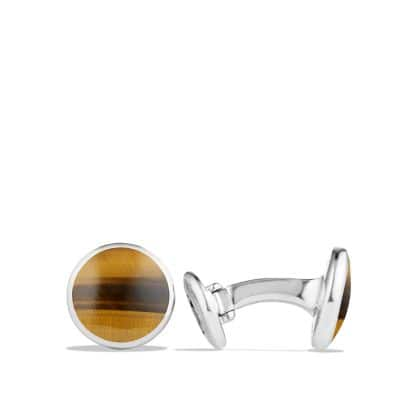 Cufflinks with Tigers Eye