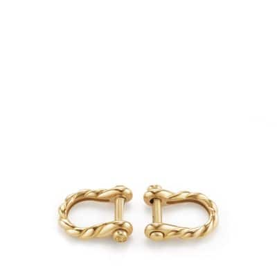 Maritime® Shackle Cufflinks in 18K Gold