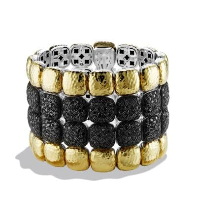 Chiclet Limited-Edition Four-Row Bracelet in Gold thumbnail