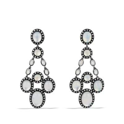 Midnight Mélange Chandelier Earrings with Diamonds