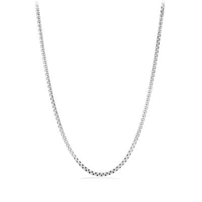 Box Chain Necklace, 5.2mm