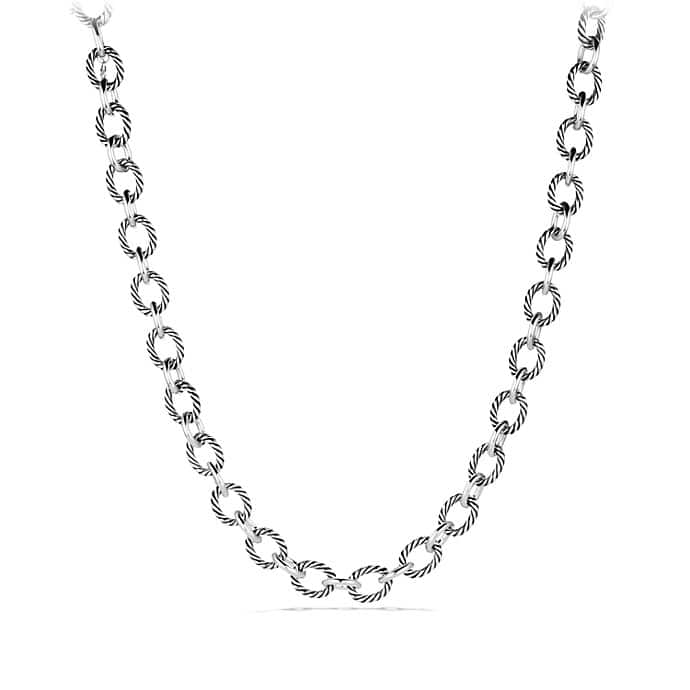 Oval Large Link Necklace