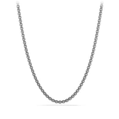 Box Chain Necklace, 3.6mm