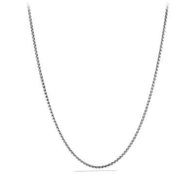 Wheat Chain Necklace, 3mm