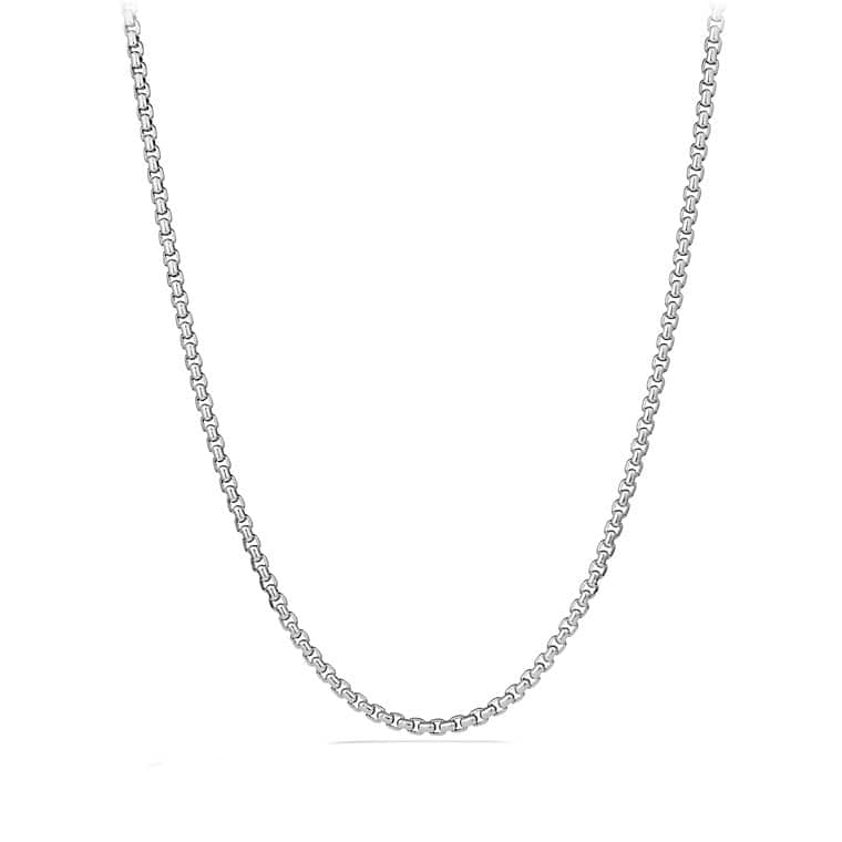 Large Box Chain Necklace, 4.8mm