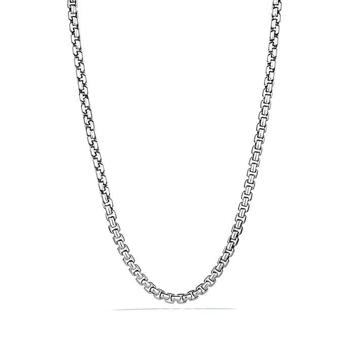 Box Chain Necklace, 7.8mm