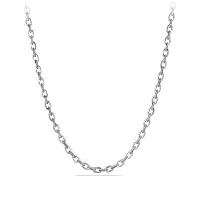 Cable Classic Oval Link Necklace