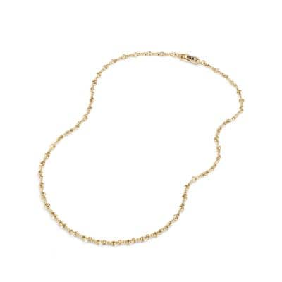 Continuance Cable Twist Chain Necklace in 18K Gold