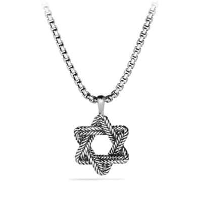 Chevron Star of David Tag